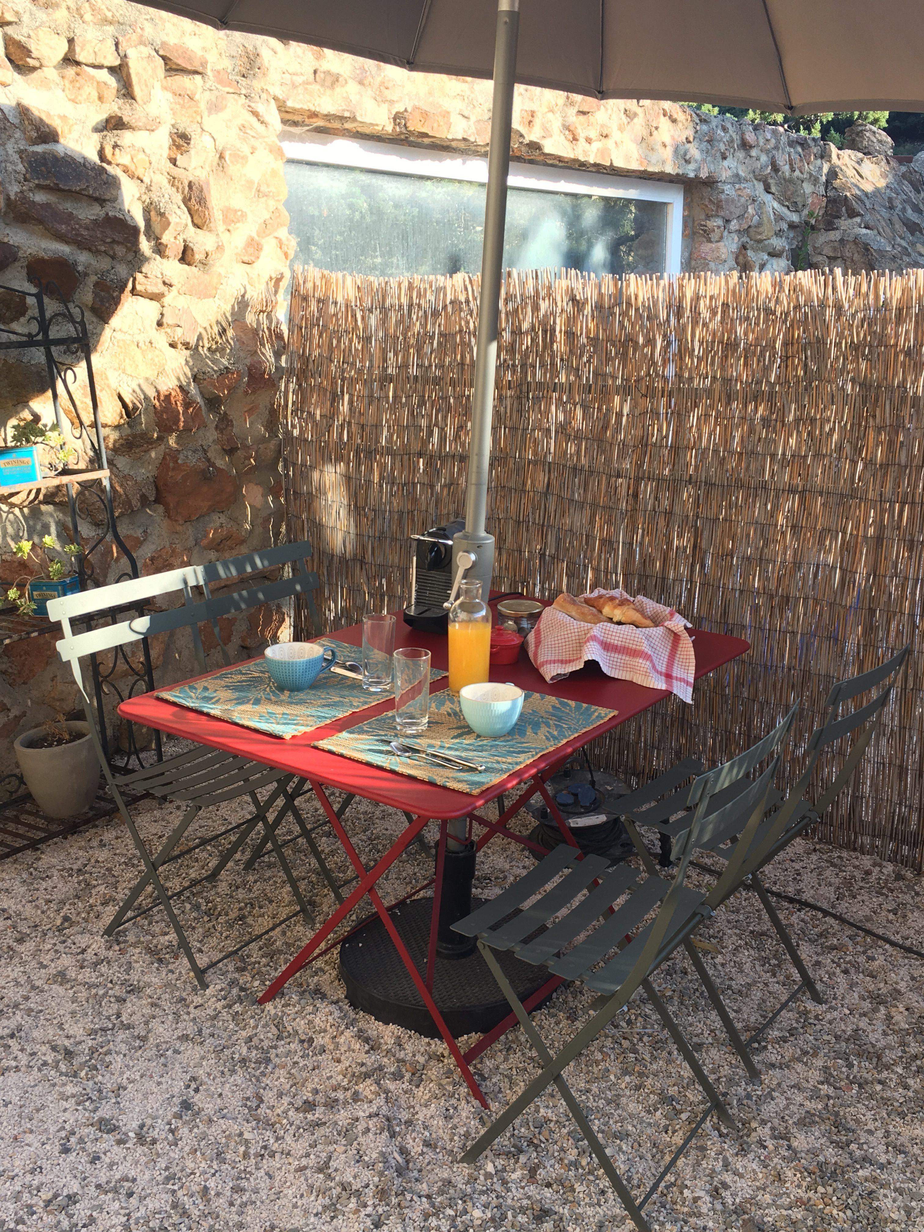 petit-déjeuner au Mas Picagnol