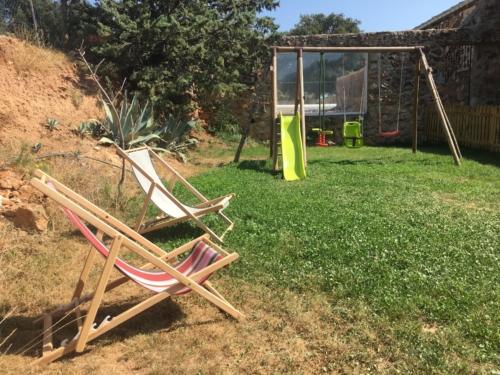 espace enfants au Mas Picagnol