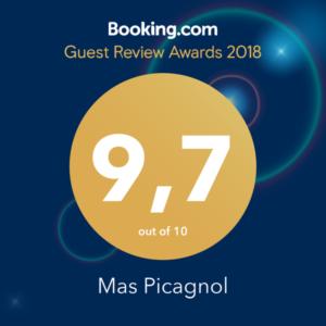 Le Mas Picagnol récompensé pour son investissement auprès de ses clients