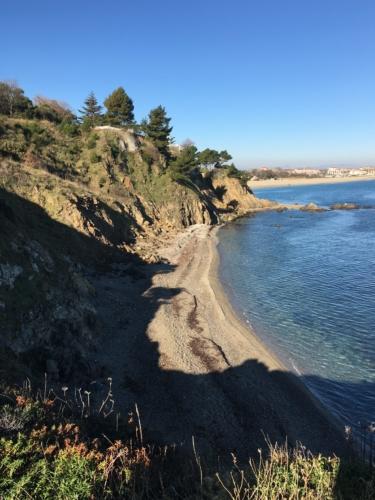 plage entre Collioure et Argelès-sur-mer