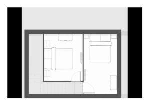 chambres en duplex pour ce gîte