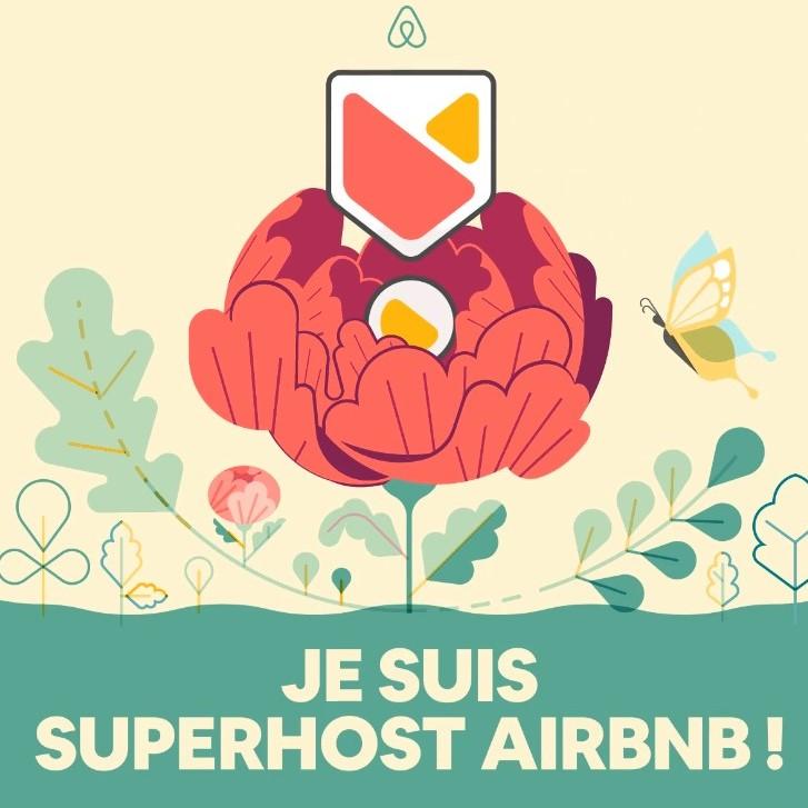le Mas Picagnol est superhost airbnb 2021
